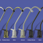 Chrome Faucets come standard with the system.  Other colors are available.