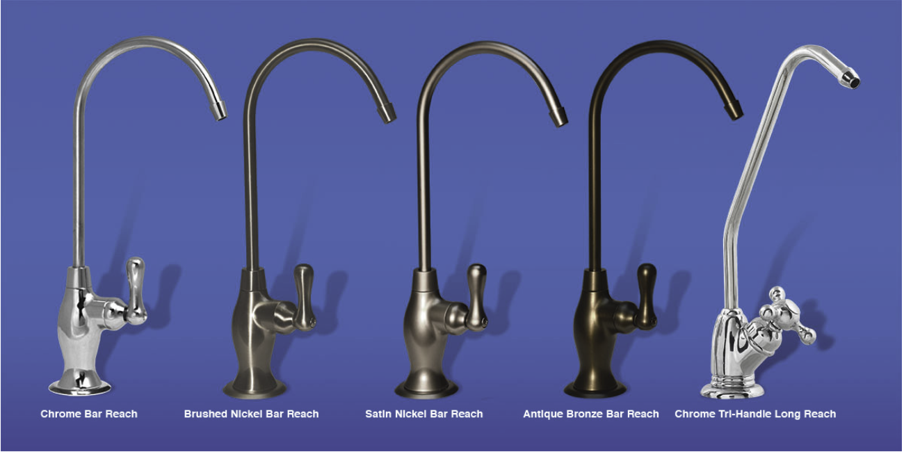 Designer Dispensing Faucets available.