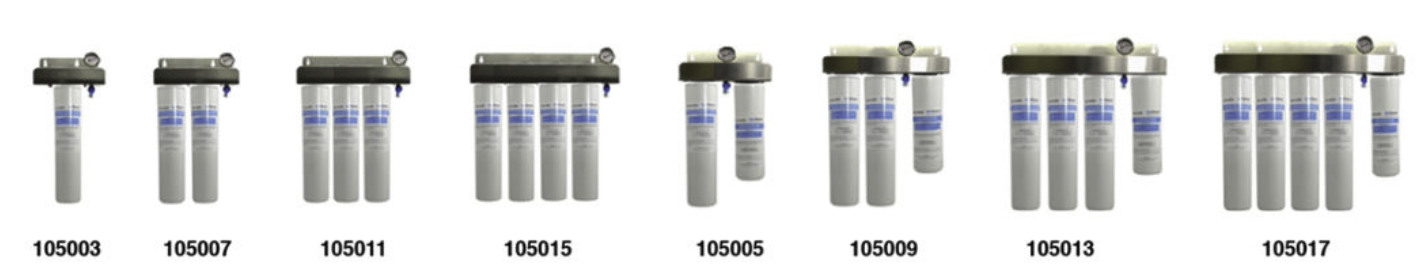 BevGuard Cuno Single and Multiple Head Bracket Systems for BGC filters
